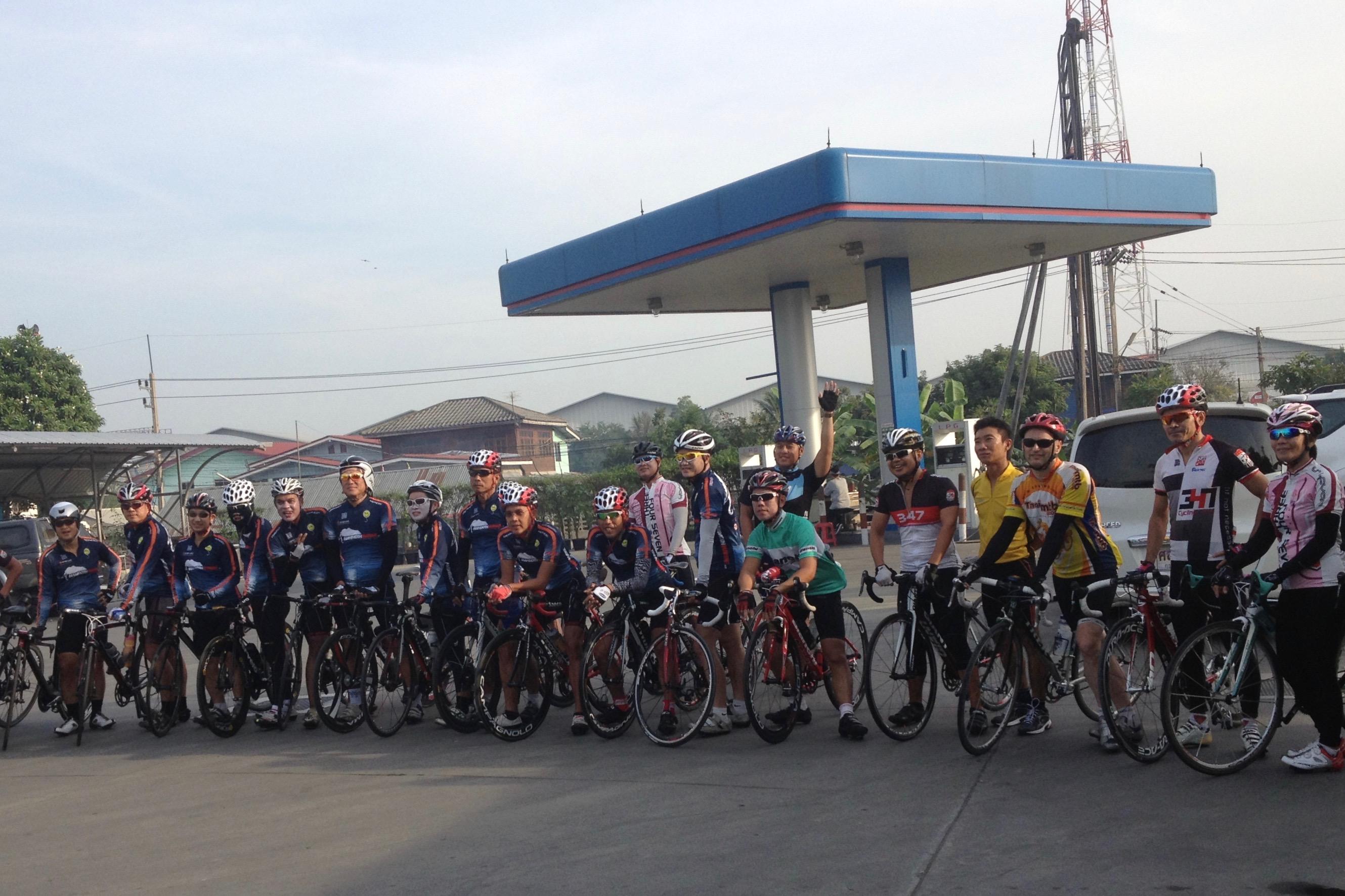På racer i norra Thailand